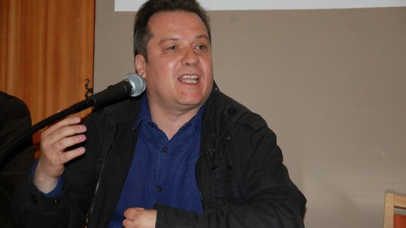Laurent Ripart, maître de conférences en histoire médiévale, Université Savoie Mont-Blanc (Photo: Jacques Berset)