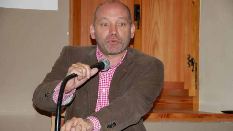 Professeur Pierre-Alain-Mariaux, Université de Neuchâtel (Photo: Jacques Berset)