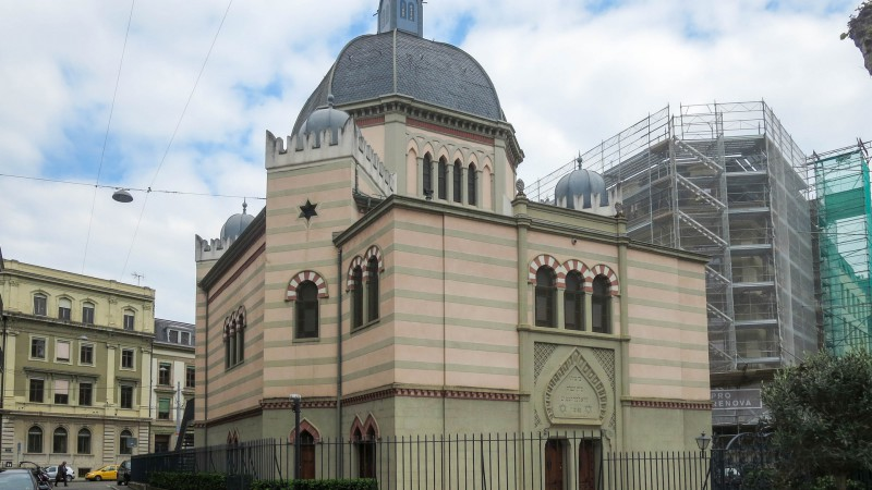 La synagogue de Genève (photo Pricilia Chacon)