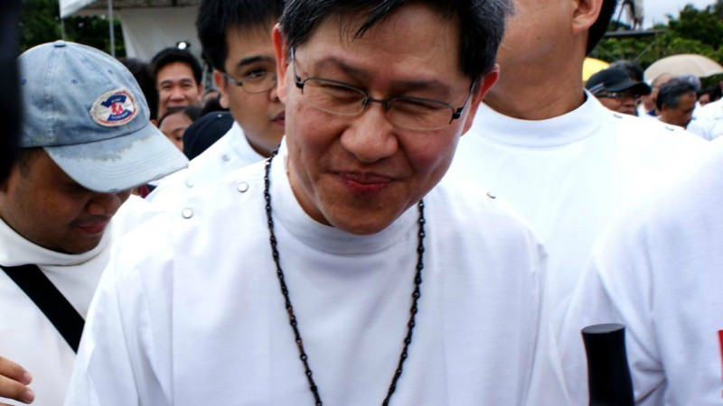 """L'archevêque philippin Luis Tagle  (Photo:Eric James Sarmiento/Flickr/<a href=""""https://creativecommons.org/licenses/by/2.0/legalcode"""" target=""""_blank"""">CC BY 2.0</a>)"""