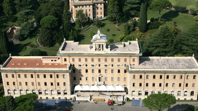 Le siège du Gouvernorat, dans les jardins du Vatican | © Jean-Pol Grandmont/Wikimedia Commons/CC BY 3.0
