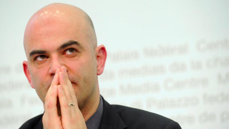 Le conseiller fédéral Alain Berset (Photo: Keystone)