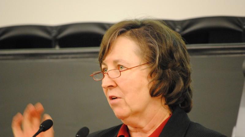 Marie-Denise Schaller, présidente de la FEDEC (photo Maurice Page)