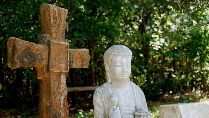 Quand le christianisme rencontre le bouddhisme (Photo: Delwin Steven Campbell/Flickr/CC BY 2.0)