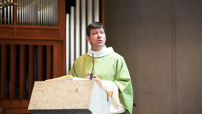 Bertrand Georges, responsable de la pastorale famille du canton de Fribourg (Photo: Pierre Pistoletti)