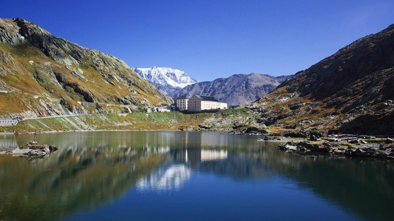 L'Hospice du Grand-Saint-Bernard, en Valais (Photo:Soumei Baba/Flickr/CC BY 2.0)