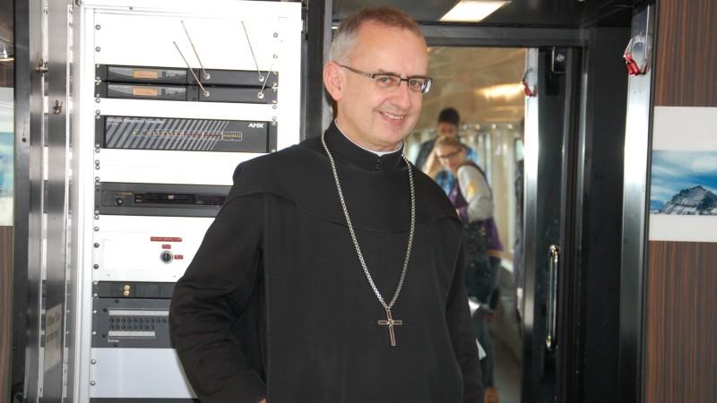 Le Père Martin Werlen, ancien Abbé du monastère bénédictin d'Einsiedeln | © Jacques Berset