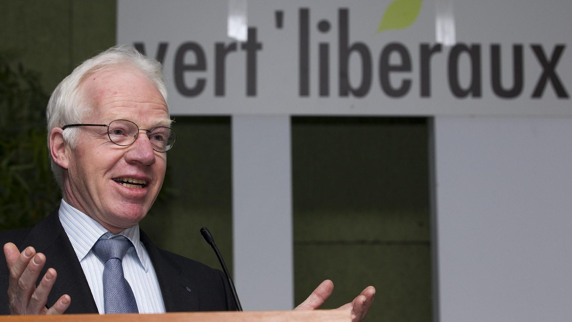Jacques-Andre Haury, député vert-libéral au Grand Conseil vaudois (photo Keystone)