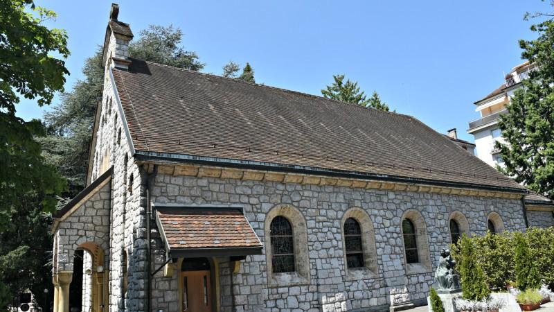 L'église du Saint-Rédempteur, à Lausanne a été rénovée (Photo:Raphaël Zbinden)
