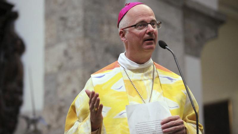 Mgr Morerod, évêque de Lausanne, Genève, Fribourg. (Photo: Benrard Hallet)