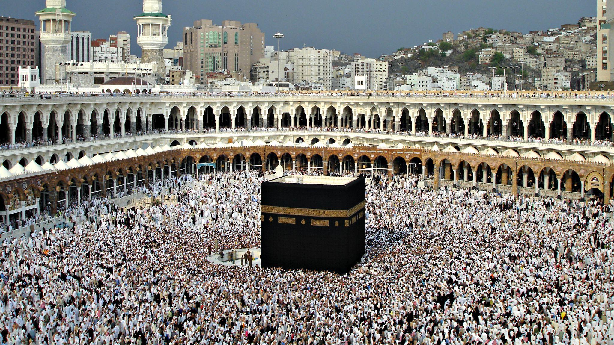 Alg rie bracelets lectroniques pour les malades lors du for Interieur de la kaaba