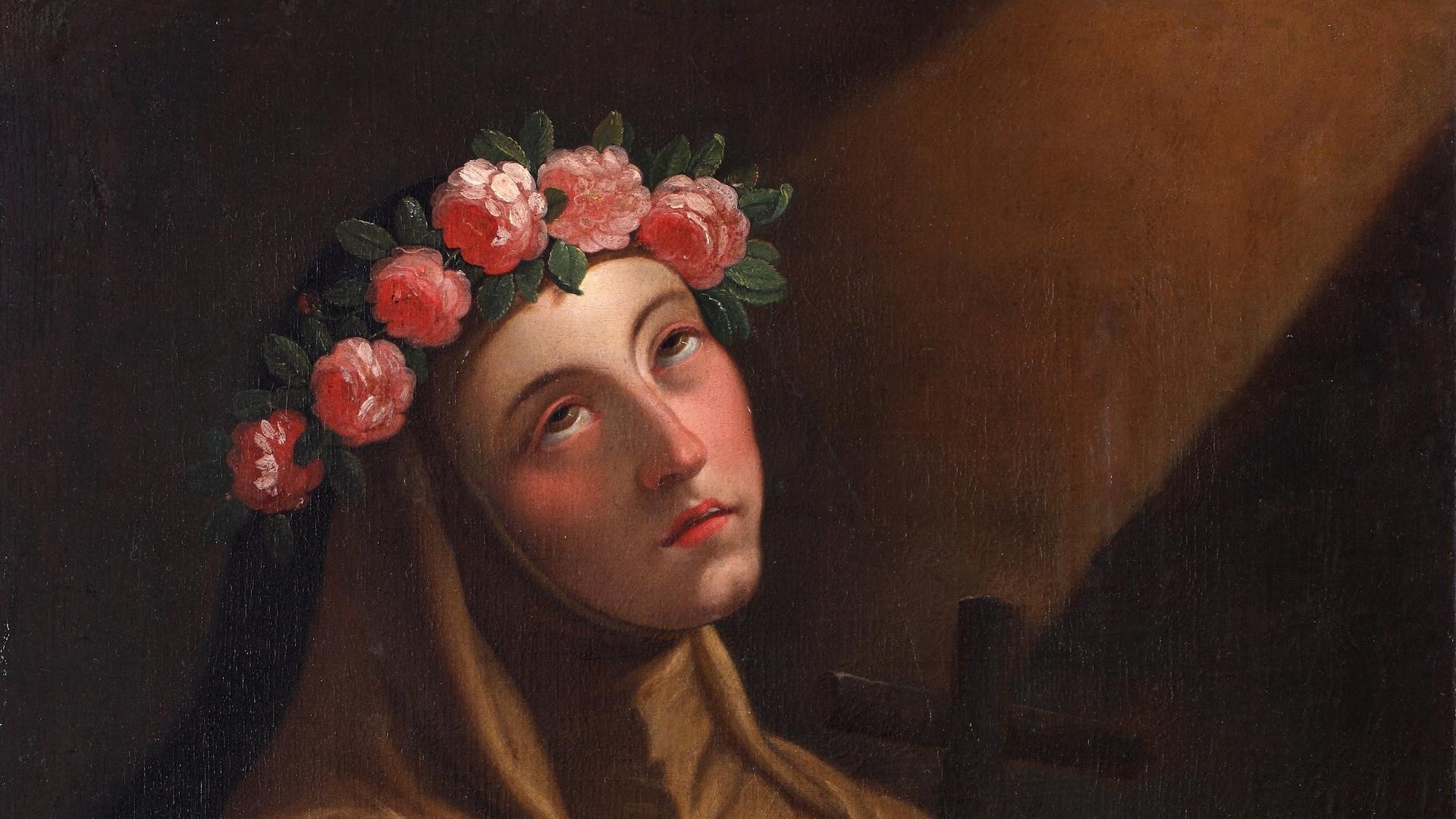 ✟Les Saints - Les Saintes du  Jour✟ Rose-de-lima