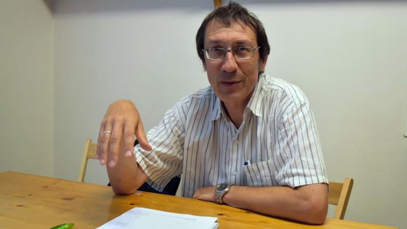 Jean-Claude Huot, de la pastorale oecuménique dans le monde du travail (Photo:  Jacques Berset)