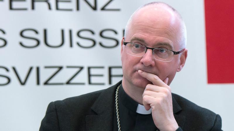 Mgr Charles Morerod, président de la Conférence des évêques suisses (Photo: Keystone)
