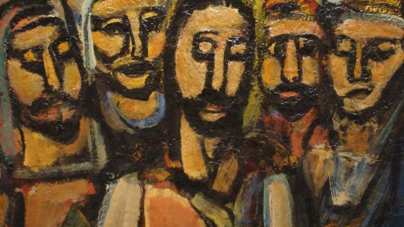 """Georges Rouault:  """"Les disicples de Jésus"""""""