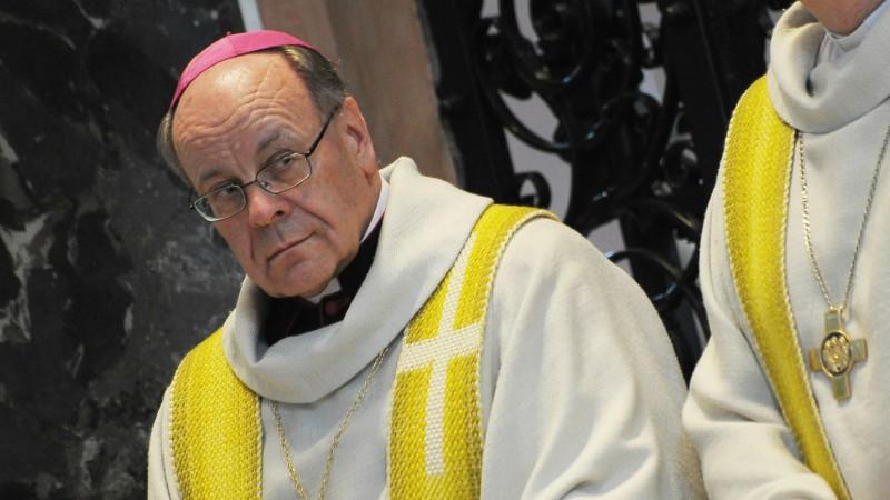 Mgr Vitus Huonder, évêque de Coire (Photo:Keystone)