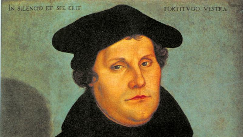 Le réformateur Martin Luther