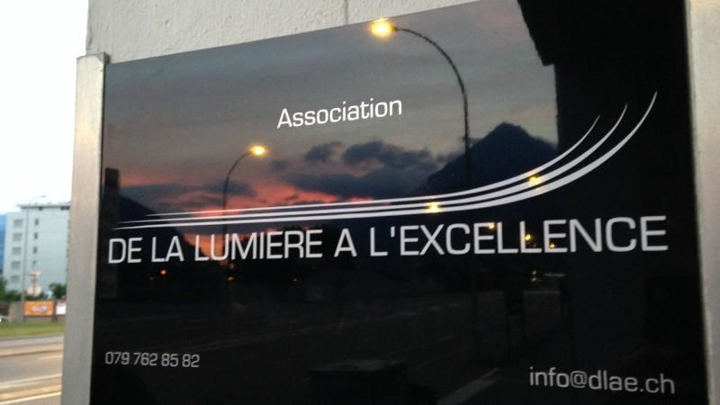 """Le local de l'association musulmane """"De la lumière à l'excellence"""", à Martigny. (Photo: DR)"""