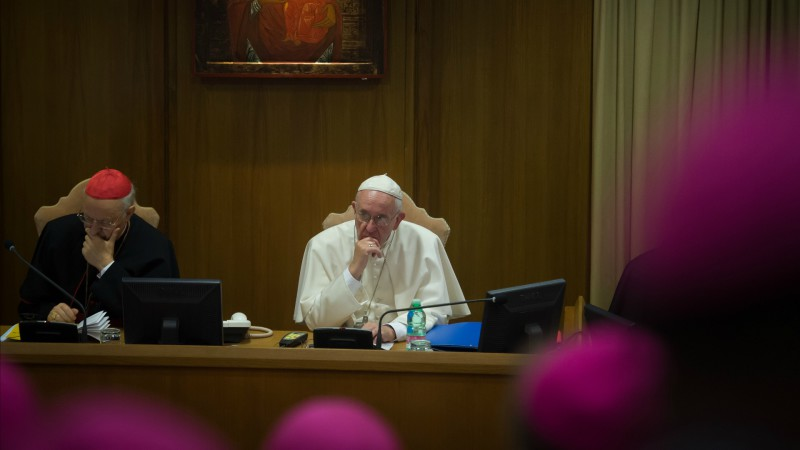 "Le pape François  (Photo: Flickr/catholicnews.org.uk/<a href=""https://creativecommons.org/licenses/by-nc-sa/2.0/legalcode"" target=""_blank"">CC BY-NC-SA 2.0</a>)"