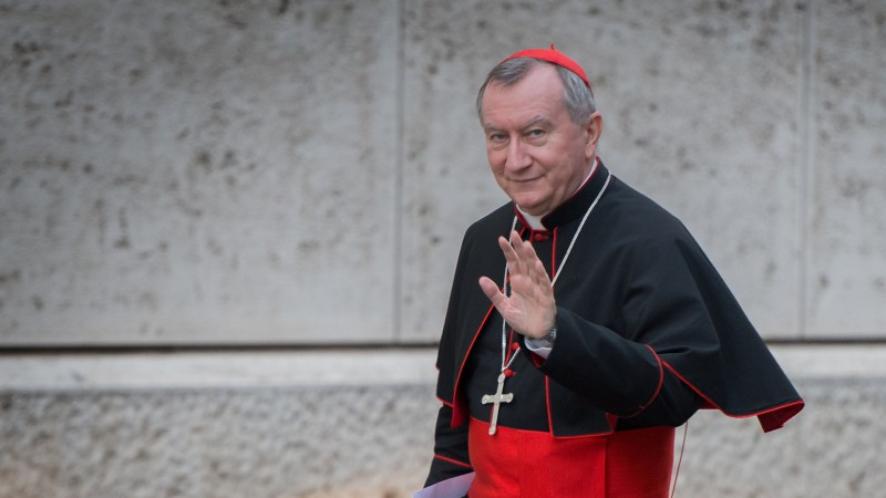 "Le cardinal Pietro Parolin, secrétaire d'Etat du Saint-Siège (photo: Flickr Catholic Church of England and Wales <a href=""https://creativecommons.org/licenses/by-nc-sa/2.0/legalcode"" target=""_blank"">CC BY-NC-SA 2.0</a>)"