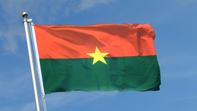 le drapeau national du Burkina Faso (photo DR)