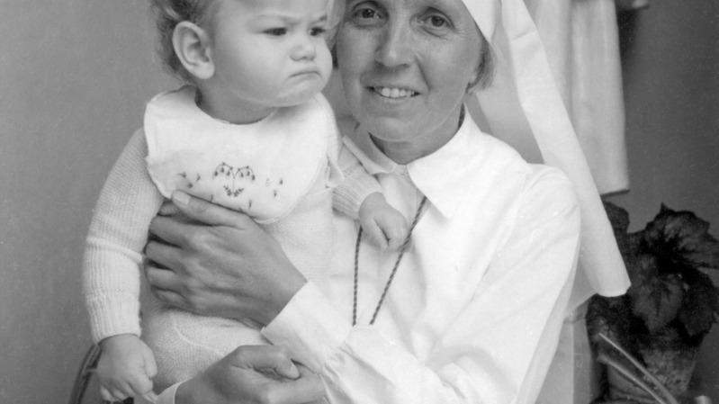 Soeur Claire a fait beaucoup pour les femmes et les enfants du Valais (Photo:dr)