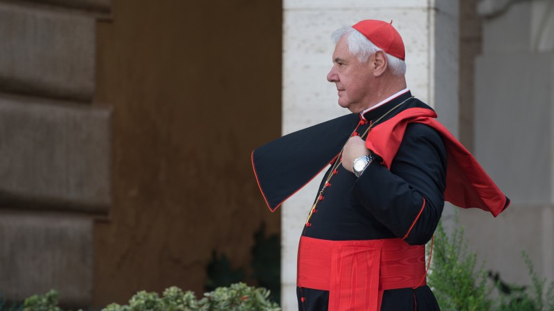"Le cardinal Gerhard-Ludwig Müller, préfet de la Congrégation pour la doctrine de la foi (photo: Flickr Catholic Church of England and Wales <a href=""https://creativecommons.org/licenses/by-nc-sa/2.0/legalcode"" target=""_blank"">CC BY-NC-SA 2.0</a>)"