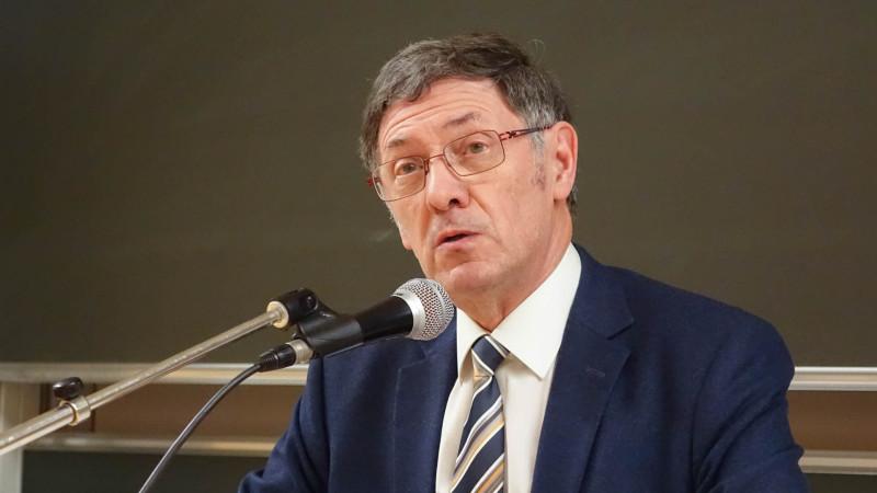 Gabriel Ringlet, prêtre, théologien, écrivain et journaliste, professeur émérite de l'Université de Louvain, en Belgique (photo Maurice Page)
