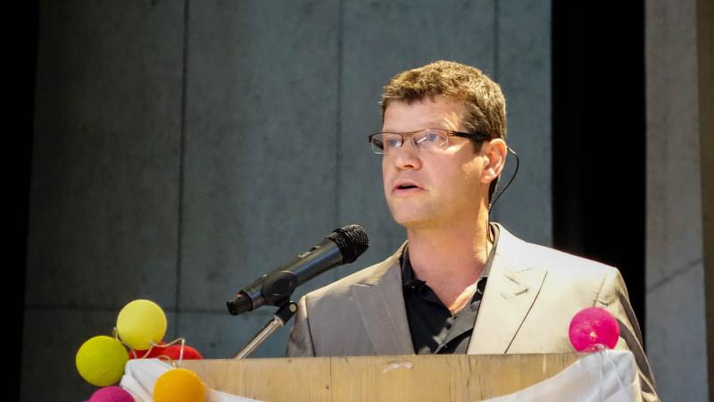 Roberto Simona, responsable pour la Suisse romande de l'Aide à l'Eglise en détresse AED (photo Maurice Page)