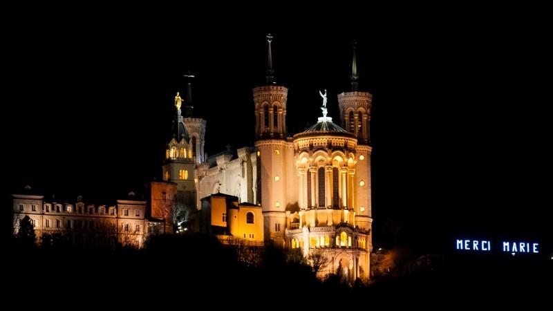 La basilique Notre-Dame de Fourvière à Lyon (photo Flickr Faustino Garcia CC BY 2.0)