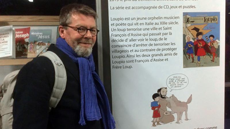 """Jean-François Kieffer, le père de """"Loupio"""" (Photo: DR)"""
