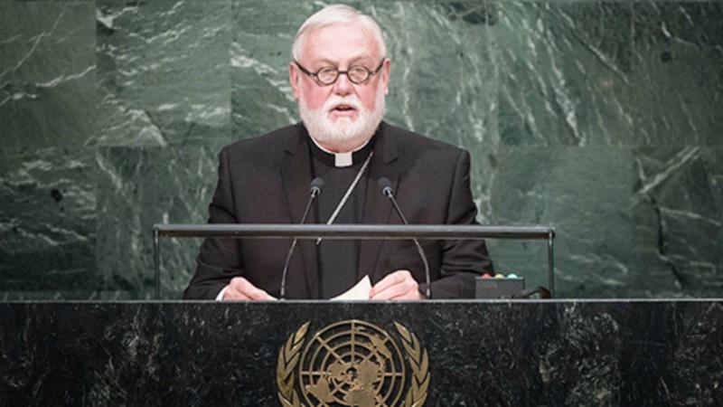 Archevêque Paul Richard Gallagher, secrétaire du Saint-Siège pour les relations avec les Etats (Photo: holyseemission.org)