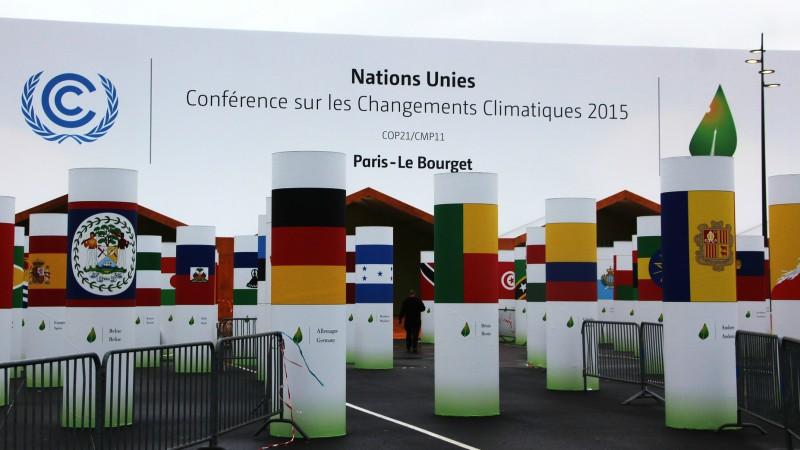 Conféence sur le climat au Bourget. (Photo: Flickr/Takver/CC BY-SA 2.0)