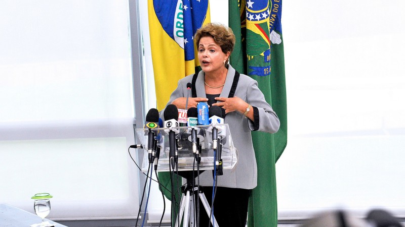 "Dilma Rousseff, présidente du Brésil. (Photo: JFlickr/onas Pereira/<a href=""https://creativecommons.org/licenses/by/2.0/legalcode"" target=""_blank"">CC BY 2.0</a>)"