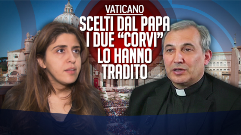 Le procès de Francesca Chaouqui et Mgr Vallejo Balda touche à sa fin. (Photo: DR/ www.portaaporta.rai.it)