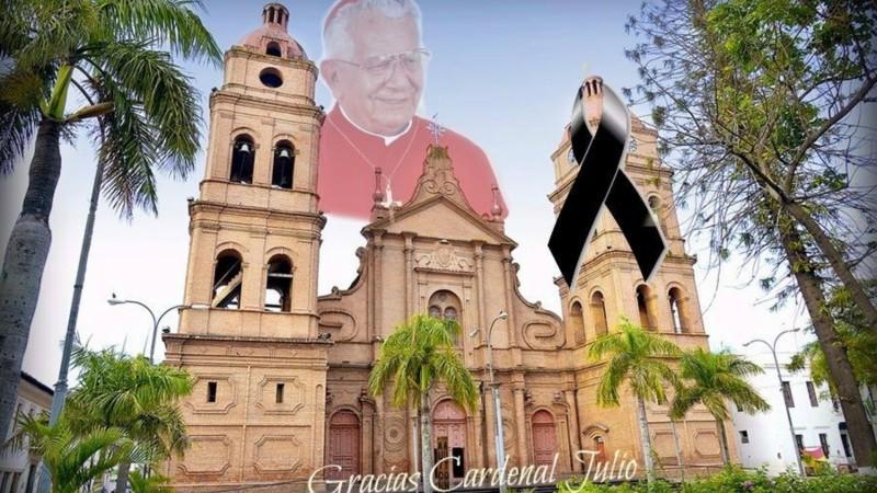 Hommage au cardinal Julio Terrazas Sandoval (Photo:  Archidiocèse de Santa Cruz de la Sierra)