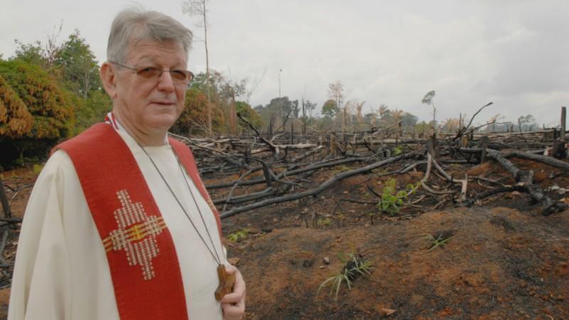 Mgr Erwin Kräutler, évêque de la prélature territoriale de Xingu (Photo:  Jean-Claude Gerez)