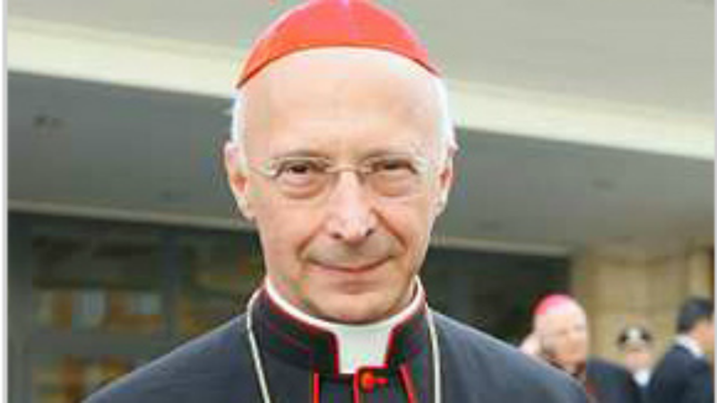 Cardinal Angelo Bagnasco, président de la Conférence épiscopale italienne (Photo: CEI)