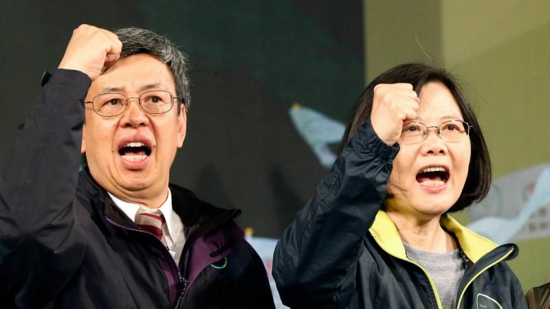 Chen Chien-jen est le premier vice-président catholique de Taïwan (Photo:AP Photo/Wally Santana/Keystone)