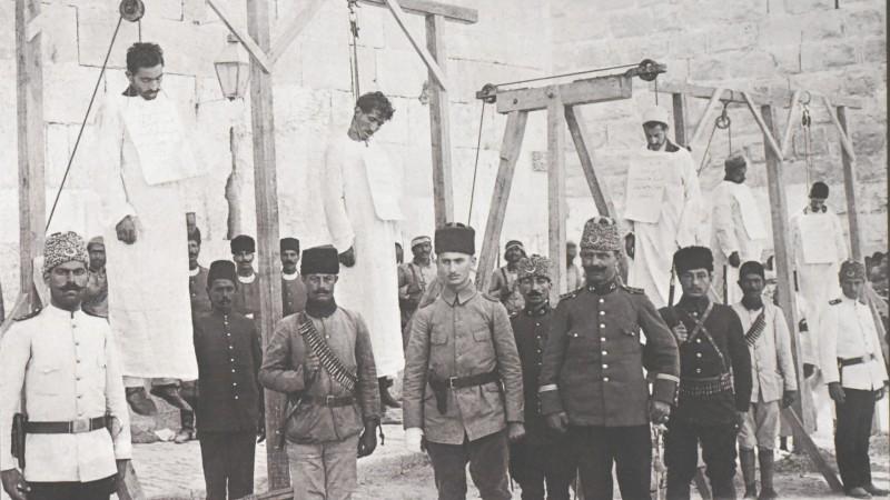 Erevan  Exécution de cinq prêtres arrméniens Musée-Institut du Génocide des Arméniens (Photo:  Jacques Berset)