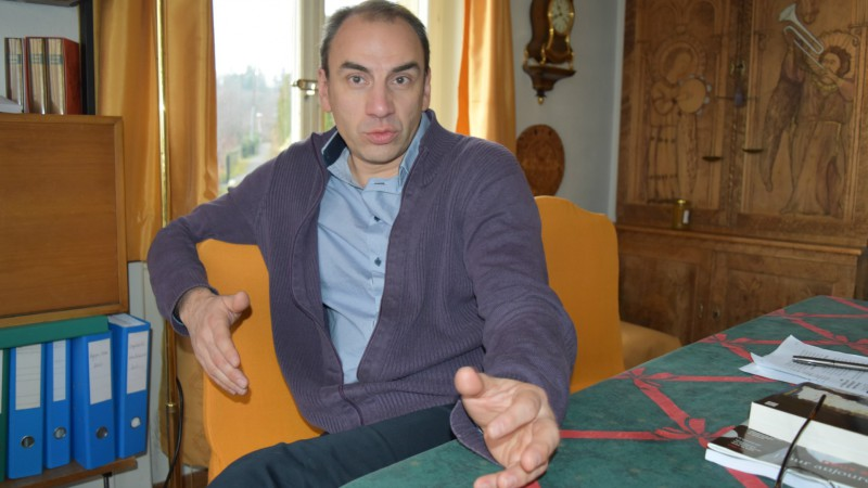 L'écrivain, journaliste et photographe français Pascal Maguesyan (Photo:  Jacques Berset)