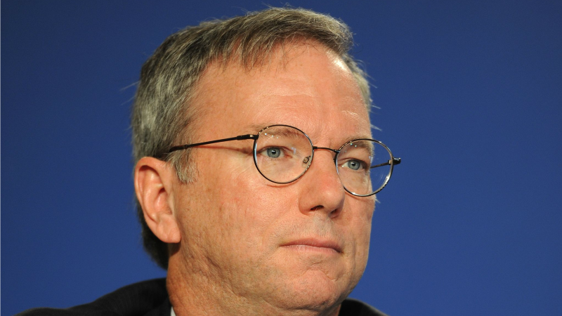 Eric Schmidt, PDG de Google (Photo:Guillaume Paumier/Wikimedia Commons/CC BY 3.0)