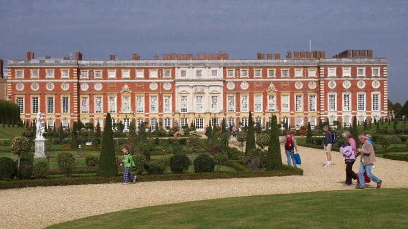 Le château de Hampton Court, à Londres (Photo:Paula Funnell/Flickr/CC BY-NC_ND 2.0)