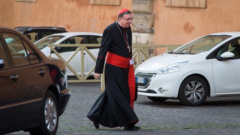 Le cardinal Kurt Koch, président du Conseil pontifical pour l'unité des chrétiens (Photo: Andrea Krogmann)