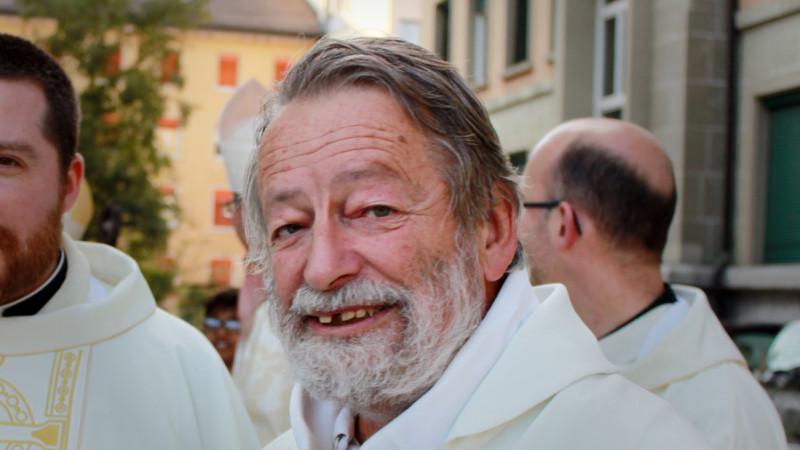 L'abbé Marc Donzé, ancien vicaire épiscopal du canton de Vaud (Photo: Bernard Litzler)