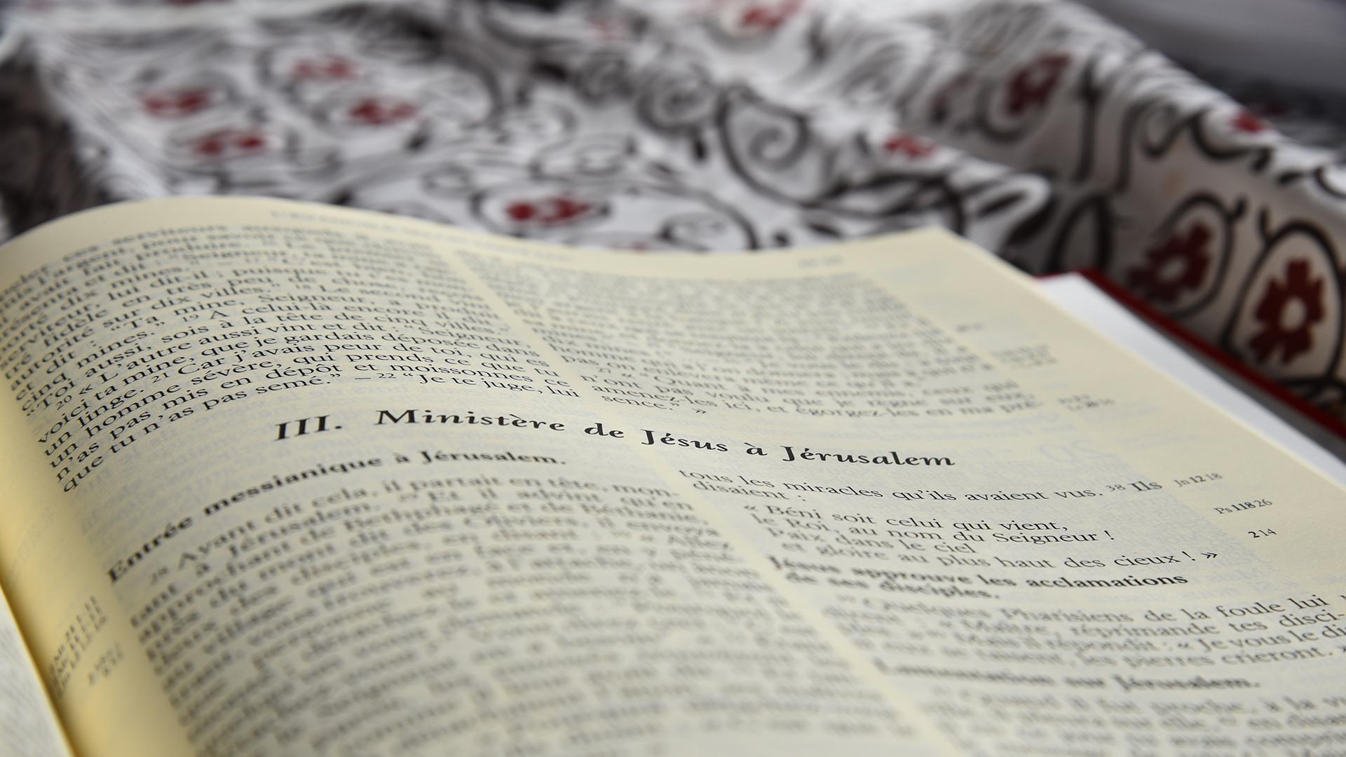 Prier avec la bible marie christine varone - Table pastorale de la bible en ligne ...