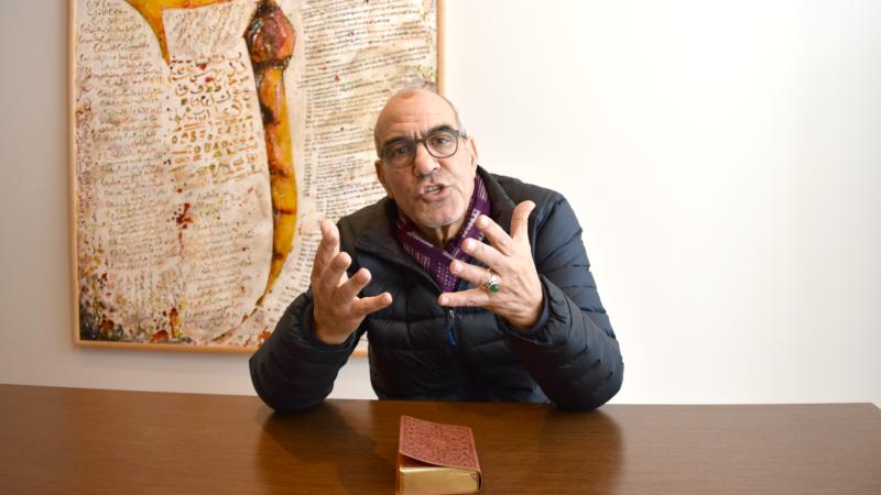 Hafid Ouardiri, directeur de la Fondation pour l'Entre-Connaissance (Photo: Jacques Berset)