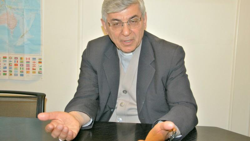 Mgr Ramzi Garmou, archevêque chaldéen catholique de Téhéran  (Photo:  Jacques Berset)