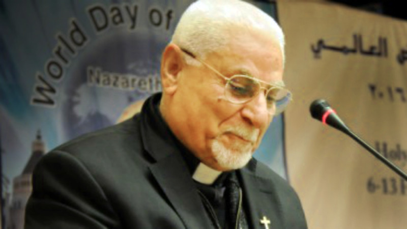 Mgr Yohanna Petros Mouché, archevêque syriaque catholique de Mossoul (Photo:  fr.lpj.org)