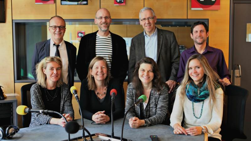 L'équipe de RTSreligion (Photo: Cath-Info)